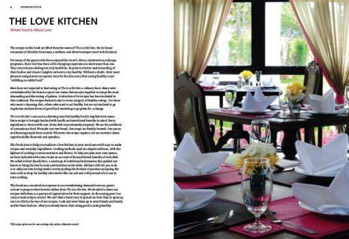 absolute sanctuary recipe book the love kitchen