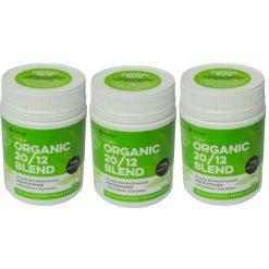 Organic 2012 Blend Pack of 3