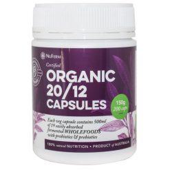 Organic 2012 Capsules