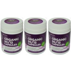 Organic 2012 Capsules pack of 3