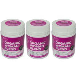 Organic Woman pack of 3