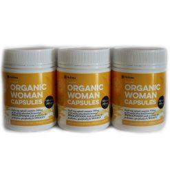 Organic Women Capsules 200c 3PACK