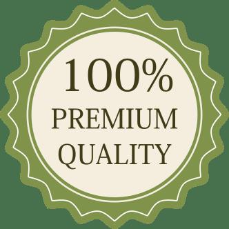 100% premium quality product