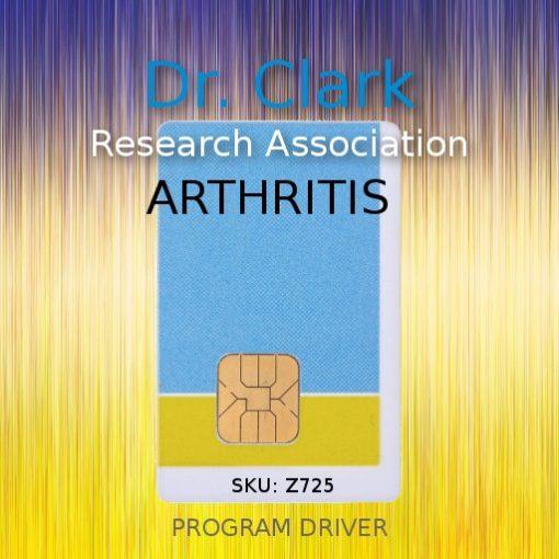 Arthritis driver card