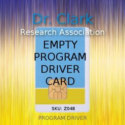Empty Program Driver Cards