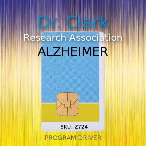 alzheimer driver card