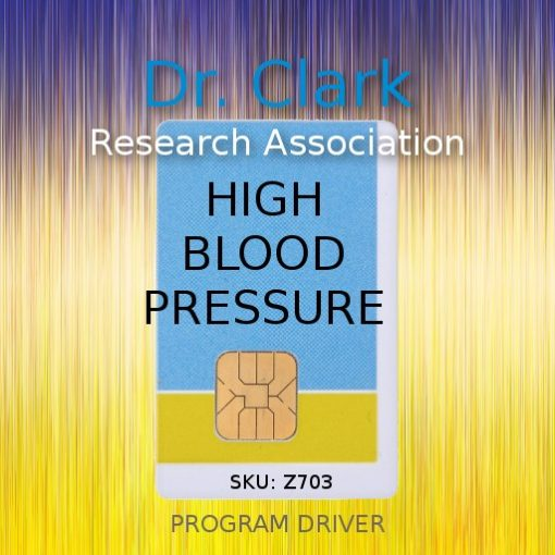 high blood pressure program driver