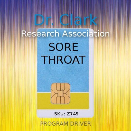 sore throat program driver