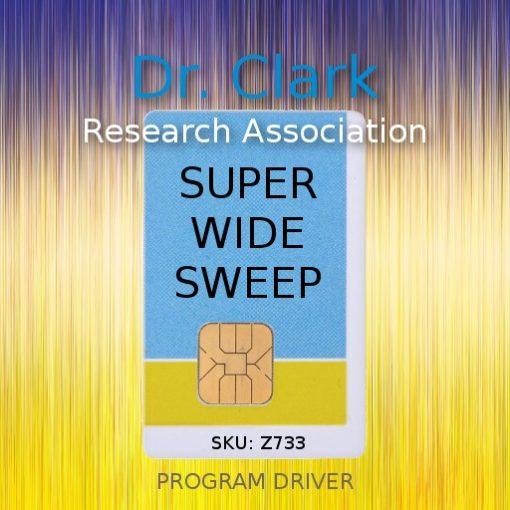 super wide sweep program driver