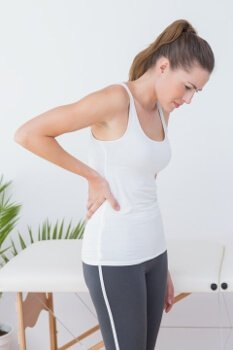 back pain at the gym