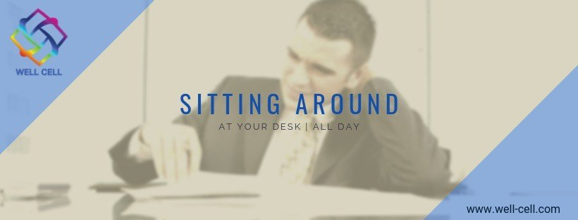 sitting around at your desk - the blog