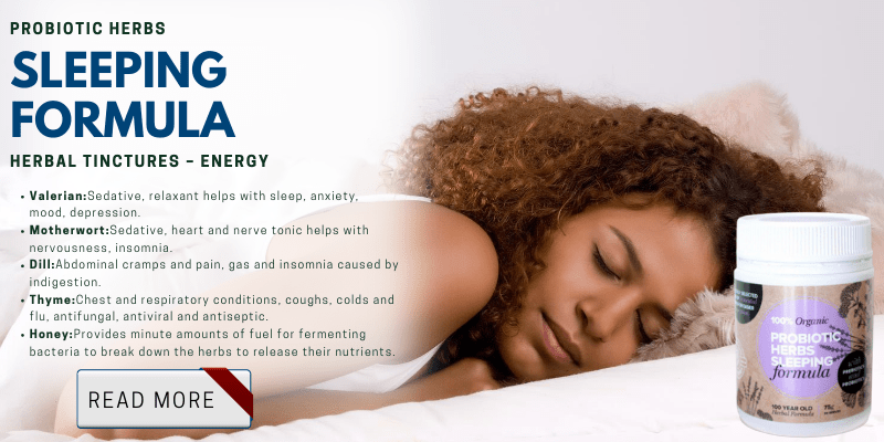 Probiotic Herbs Sleeping Formula