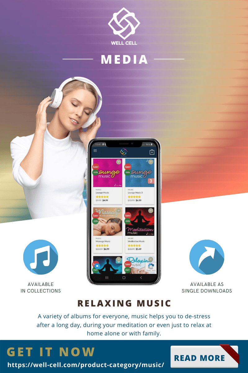 Relax with well-cell music