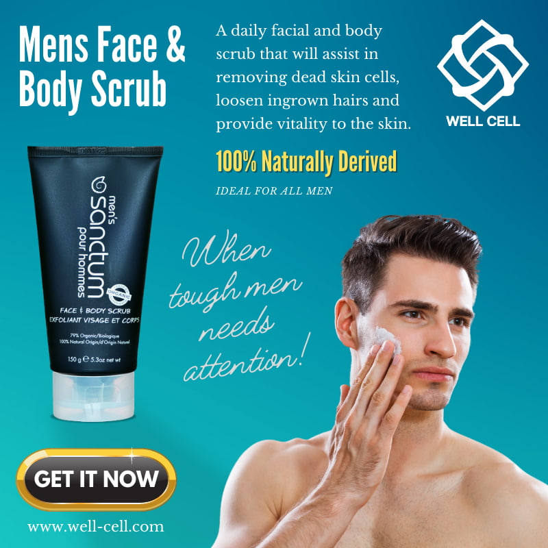 Mens Face and Body Scrub