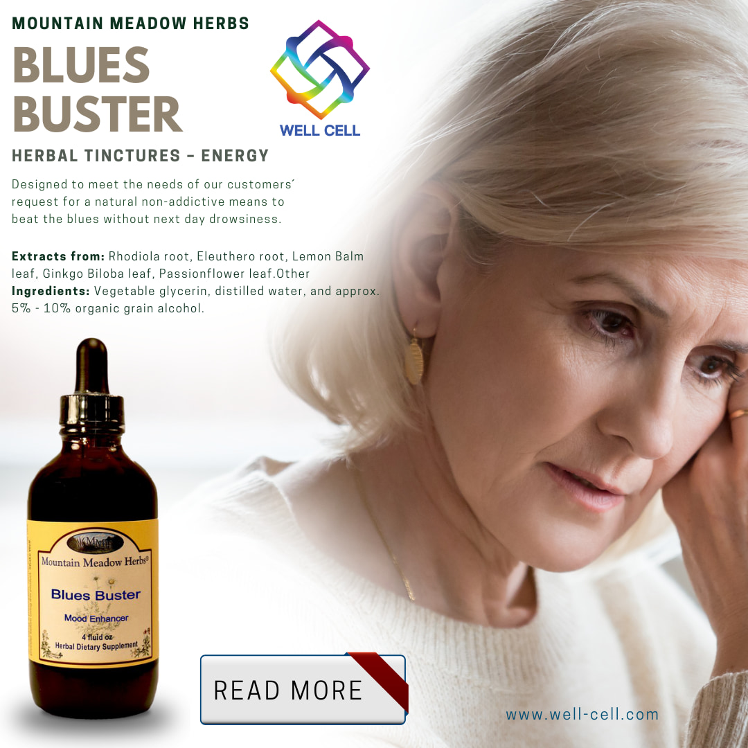 Blues Buster Herbal Tincture
